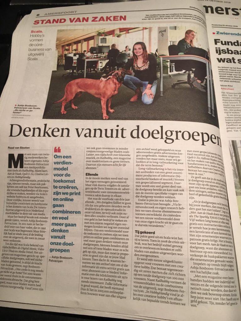 Scala in Algemeen Dagblad