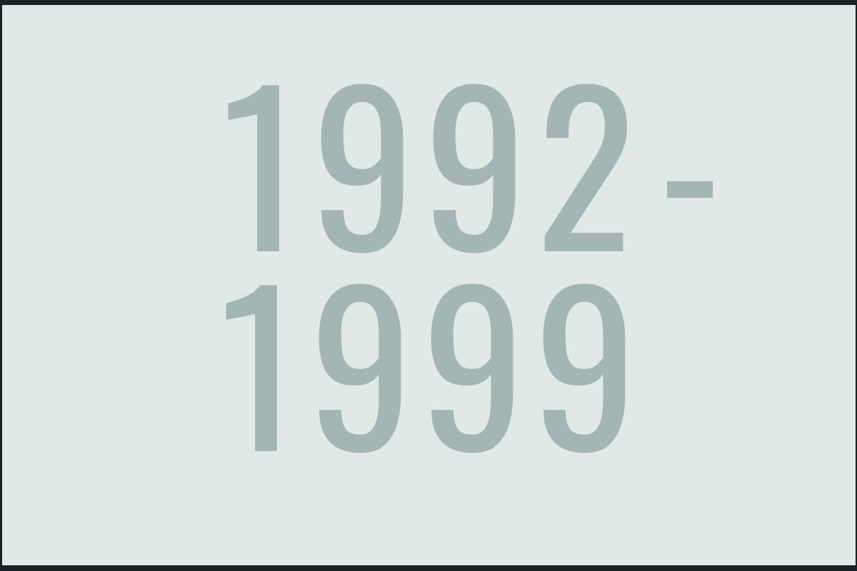 1992-1999