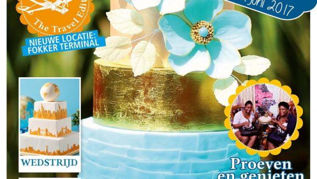 Magazine MjamTaart zet koers naar tweede editie Cake & Bake Experience