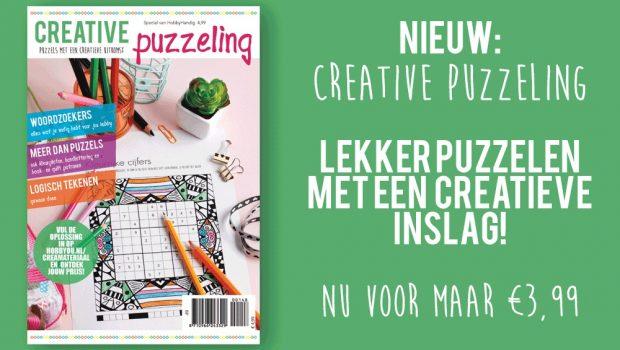 De creatieve trends: handletteren én puzzelen