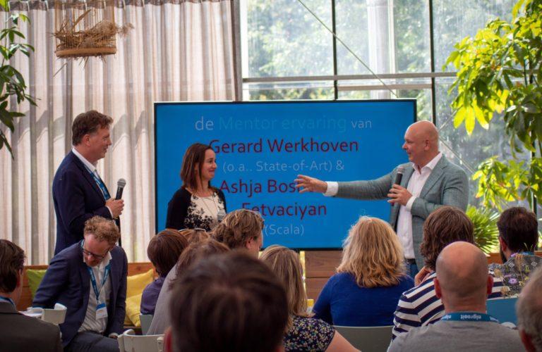 Ashja Bosboom mentor bij NL-Groeit